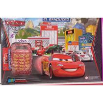 Super Banco Imobiliário Carros Disney C/ Máquina De Cartão