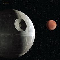 Death Star Playmat - Star Wars X-wing Tapete Trek Attack Ffg