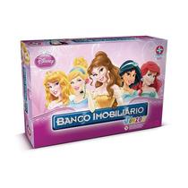 Jogo Banco Imobiliário Júnior Princesas Disney Original
