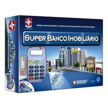 Jogo Super Banco Imobiliário C/máq. De Cartão - Estrela !!!