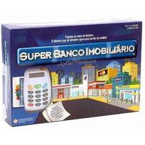 Banco Imobiliário Super Jogo + Máquina De Cartão