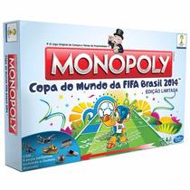 Novo Lacrado Monopoly Copa Do Mundo 2014 Edição Limitada