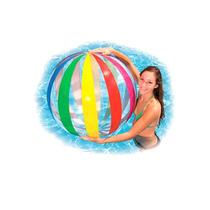 Bola Inflavel De Praia E Piscina Jumbo Gigante 107cm Intex