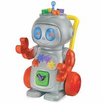 Robô De Atividades C/luz, Som E Fala Em Português -magictoys