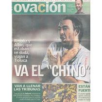 Jornal Ovación: Adrián Luna / Roger Federer, Bruna Marquezin