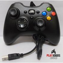 Controle Tipo Joystick Para Pc Dualshock Super Porta Usb