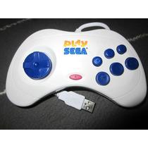Joystick Controle Saturn P/ Pc Usb Mega Drive Original