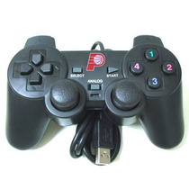 Controle Para Pc Usb Computador Padrao Ps2 - Players - Daily