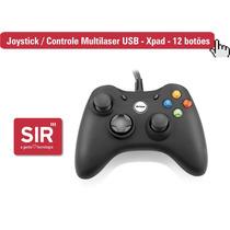 Joystick / Controle Multilaser Usb - Xpad - 12 Botões - Pc