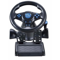 Volante Multilaser Racer 3 Em 1 Ps2 Ps3 Pc - Preto - Js073