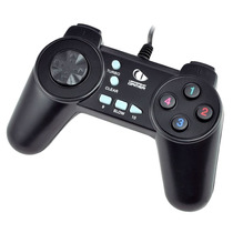 Controle Joystick Small Pc Usb Joypad Jogos Games Notebook