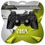 Controle Oxy Flex Preto Ps2 / Ps3 / Pc Com Fio