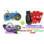 2 Controles Usb Snes + Emulador Pendrive 8 Gb Com 7784 Jogos