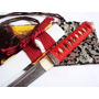 Tanto Katana Faca Afiada Aço Dobrado Espada Japonesa Corte