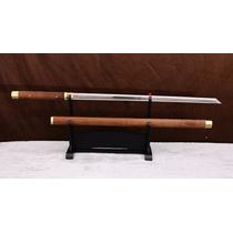 Espada Katana Samurai Ninja Shirasaya Zatoichi Aço 1060