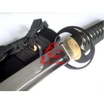 Espada Katana Samurai Funcional Corte Tameshigiri Aço 1060