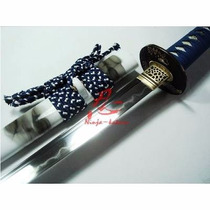 Espada Katana Samurai Afiada Aço 1095+1060 Tameshigiri