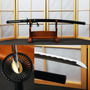 Espada Katana Afiada Forja Samurai Ninja Aço Carbono 1060