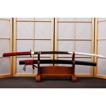 Espada Katana Aço Carbono 1060 Lâmina Fio Corte Samurai