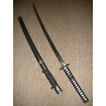 Espada Katana Clã Oda Afiada Aço 1045 Treino E Corte Linda