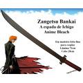 Espadas Cosplay Animes Bleach Bankai Shikay Bokuto Katana