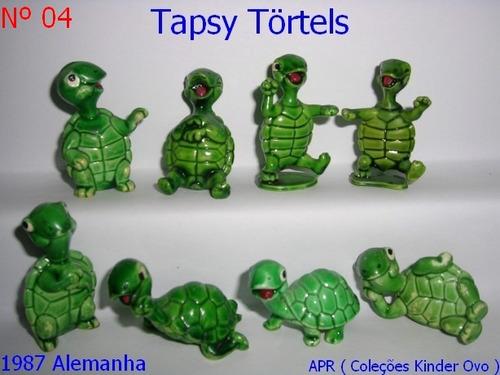 Kinder Ovo - Coleção Completa - Tapsy Törtels