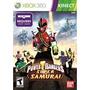 Jogo Ntsc Power Rangers Super Samurai Para Kinect Xbox 360
