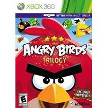 Jogo Ntsc Angry Birds Trilogy Lacrado Para Xbox 360 Kinect