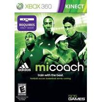 Jogo Ntsc Adidas Micoach Lacrado Pra Xbox 360 Requer Kinect