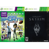 Kinect Sports 2 + The Elder Scrolls V: Skyrim Xbox 360