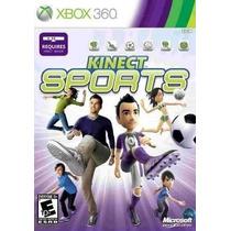 Jogo Kinect Sports Xbox 360 Original Novo Lacrado