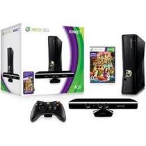 Xbox 360 + Kinect + 2 Controles + Jogos (versao Europeu)