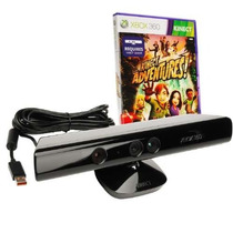 Kinect Sensor Xbox 360 Sensor Kinect Original + Jogo + Adapt