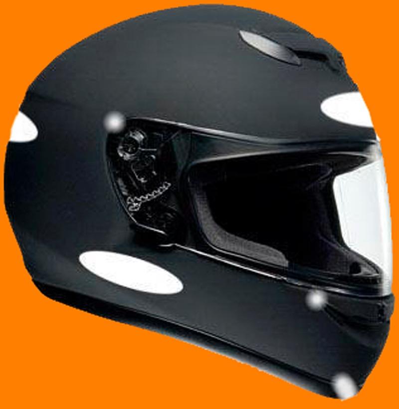 Armario Jardin Resina ~ Kit 4 Adesivos Refletivos Para Capacete Moto Carro Bicicleta R$ 9,99 no MercadoLivre