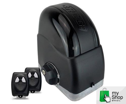 Kit Automatizador Motor 1/4hp Portão Deslizante 450kg Rcg