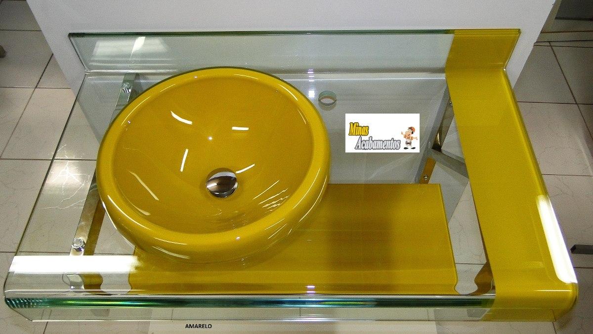 Kit Banheiro Gabinete + Espelheira Est Chopin Astra Cores  R$ 1149,00 no M -> Gabinete De Banheiro Astra