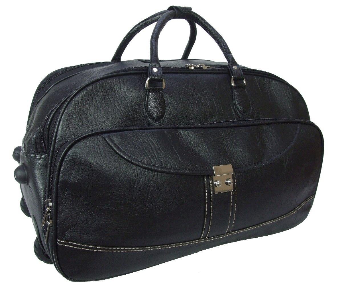 Bolsa De Viagem Feminina Grande : Kit bolsa feminina e mala grande viagem c rodinhas