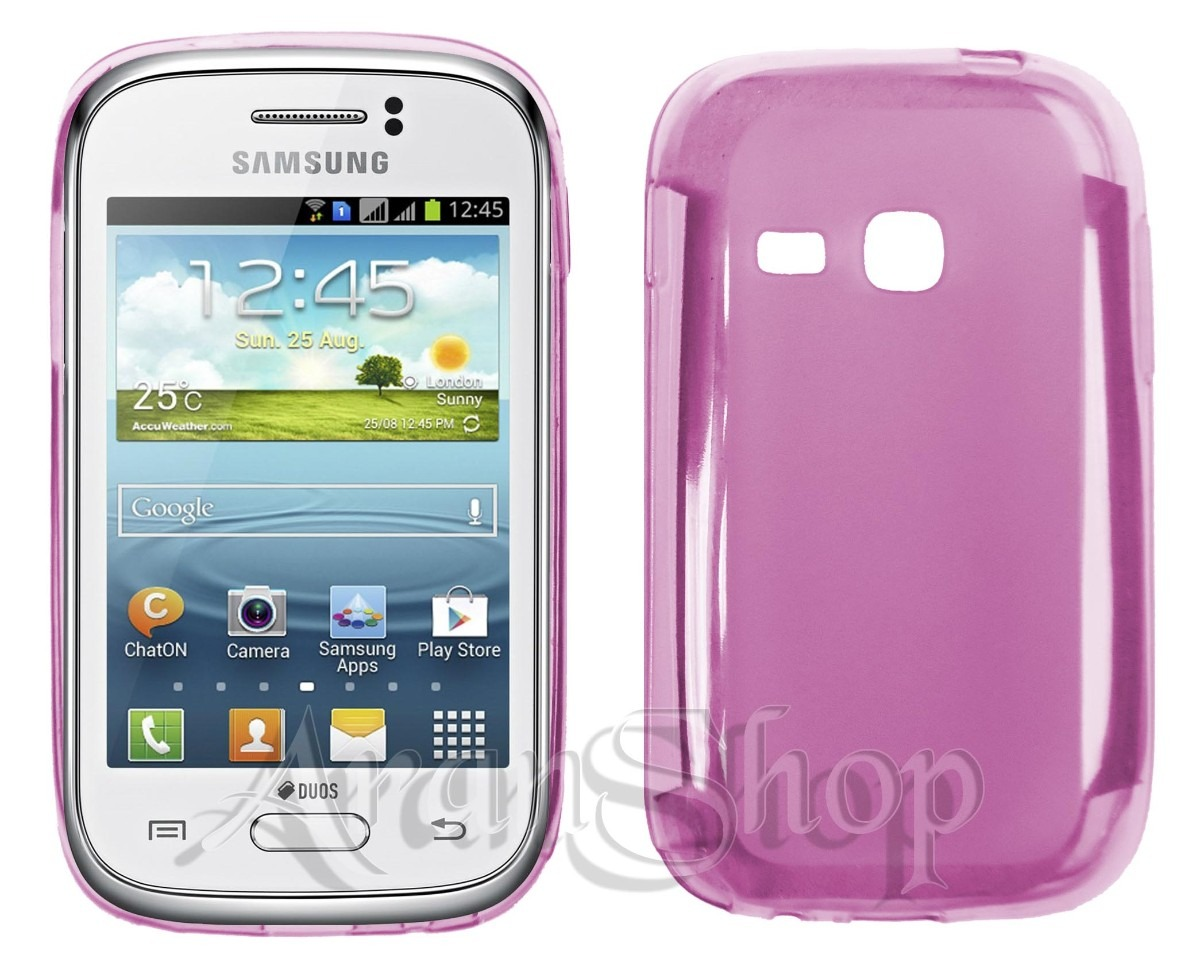 Kit Capa Tpu Samsung Galaxy Young Duos Tv S6313+ Película! R$ 12,99