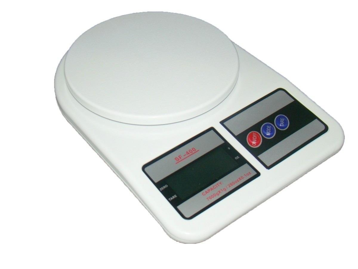 Kit Com 2 Balança Digital De Cozinha Sf 400 Até 10kg R$ 67 69 no  #303C6E 1200x900 Balança Digital Banheiro Carrefour