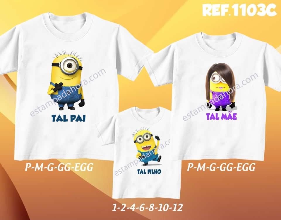 c8c8289c02 ... kit com 3 camisetas tal pai tal m e tal filho filha