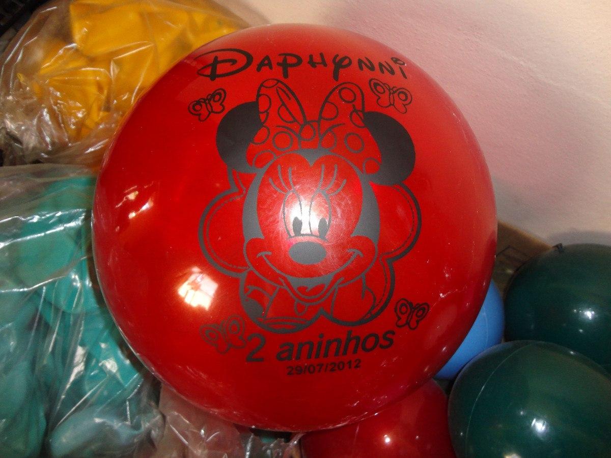 Kit com 35 bolas de vinil personalizadas por r 77 00 r - Bolas de cristal personalizadas ...