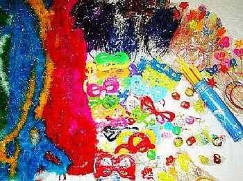 Kit Festa 15 Anos,pulseira De Neon,tiaras,colar Pisca,gravat