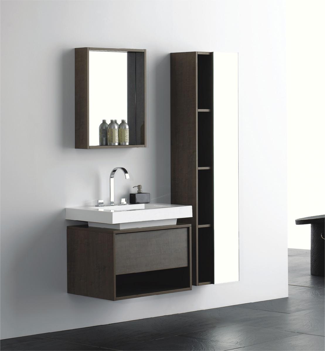 Kit Gabinete Banheiro Modelo Squadre Ks704 04 Peças R$ 2.584  #58514A 1109 1200