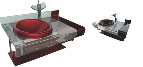 Kit Bancada Banheiro Vidro : Kit gabinete pia bancada banheiro astra estilo chopin