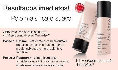 Kit Microdermoabrasão Timewise® Mary Kay