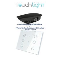 Kit Central De Automação Residencial E Iluminação Touchlight