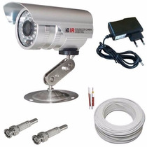 Kit Cftv 1 Câmera Infravermelho Fácil Instalação