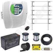 Kit Cerca Elétrica 6 Isolador + Discador - Fácil Instalação