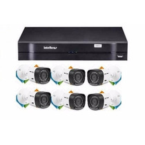 Kit 6 Câm Hdcvi Intelbras Dvr 8 Canais Intelbras 1008 Hd 1 T