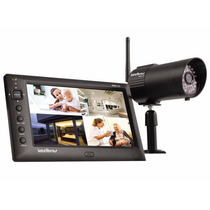 Kit Seguranca Com 1 Camera Wireless Ehm608 Intelbras C/ Tela